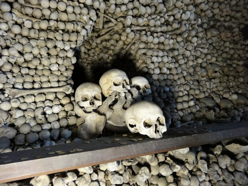 The Ossuary outside of Kutna Hora, Czech Rep.