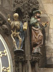 Death and the Turk on the Prague Clock