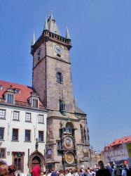 Tower of the Astronomical Clock Prague