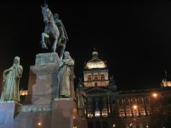 St. Wenceslas on Wenceslas Square in Prague
