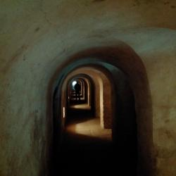Terezin - in the tunnel