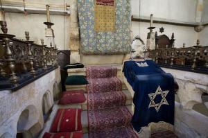 inside Old New Synagogue Prague